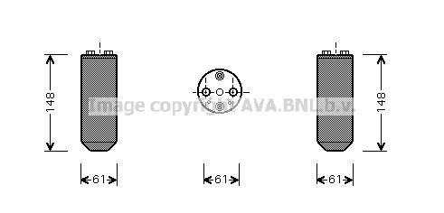 Airco droger/filter NID 014