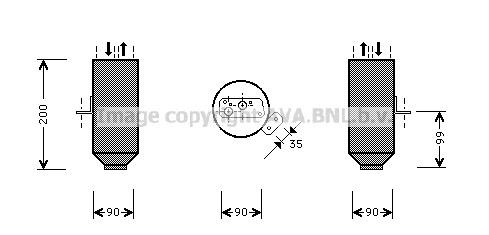 Airco droger/filter BMD 007