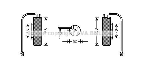 Airco droger/filter OPD 025