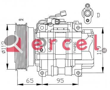 Airco compressor FIK 021