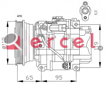Airco compressor FIK 011