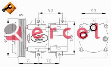 Airco compressor FOK 005