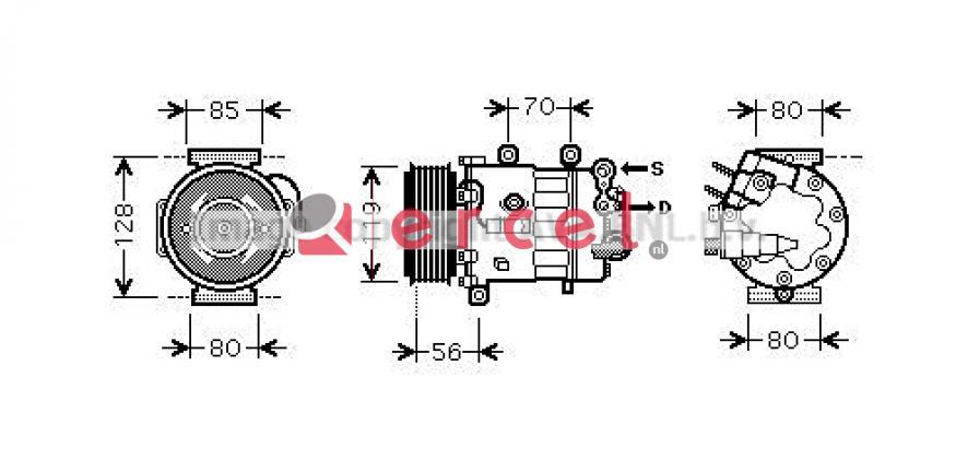 Airco compressor CIK 036
