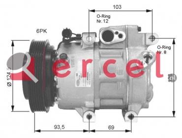 Airco compressor HYK 032
