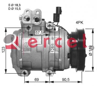 Airco compressor HYK 015