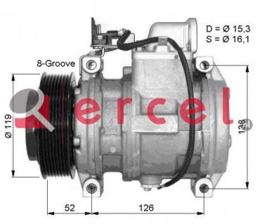 Airco compressor MBK 010