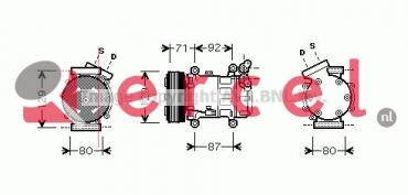 Airco compressor REK 070