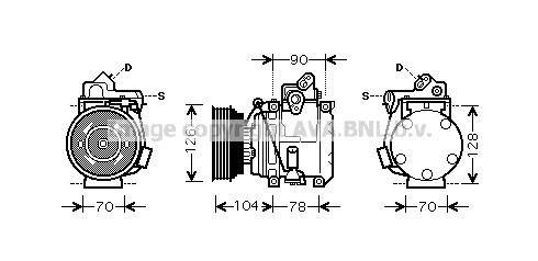 Airco compressor TOK 021