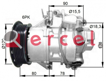 Airco compressor TOK 114