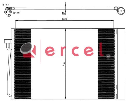 Airco condensor BMC 564