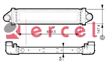 Interkoeler RVI 414