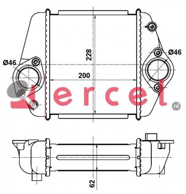 Interkoeler MAI 416