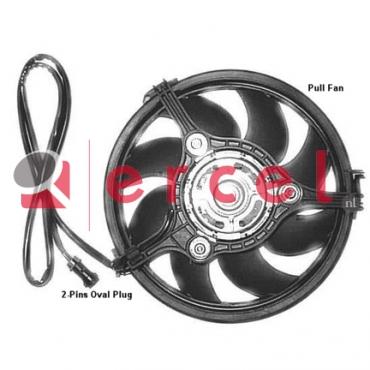 Ventilatorwiel motorkoeling AUF 007