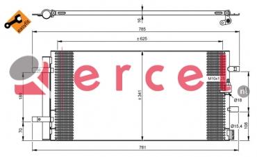 Airco condensor AUC 577