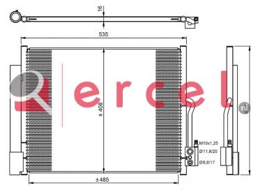 Airco condensor OPC 591