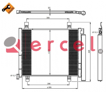 Airco condensor VWC 541