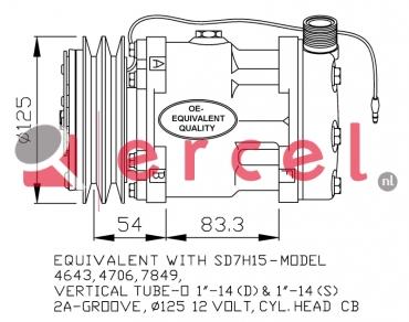 Airco compressor FOK 130