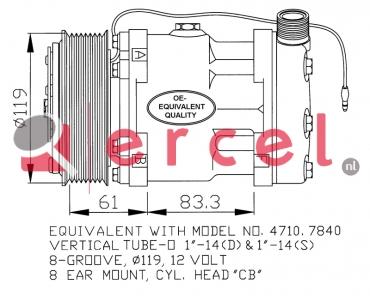 Airco compressor UVK 176