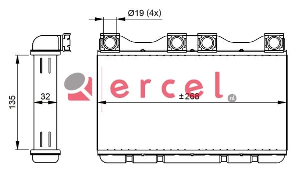 Kachelradiateur BMH 248