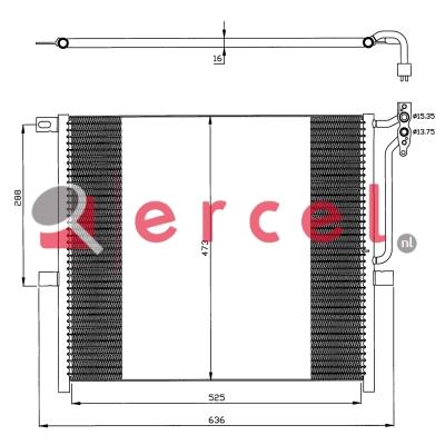Airco condensor BMC 574
