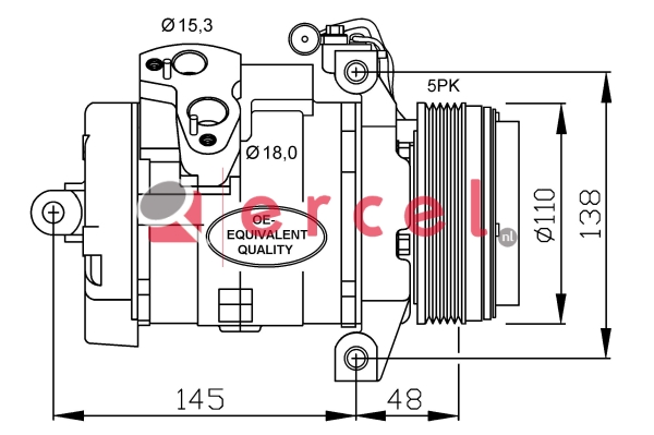 Airco compressor BMK 049