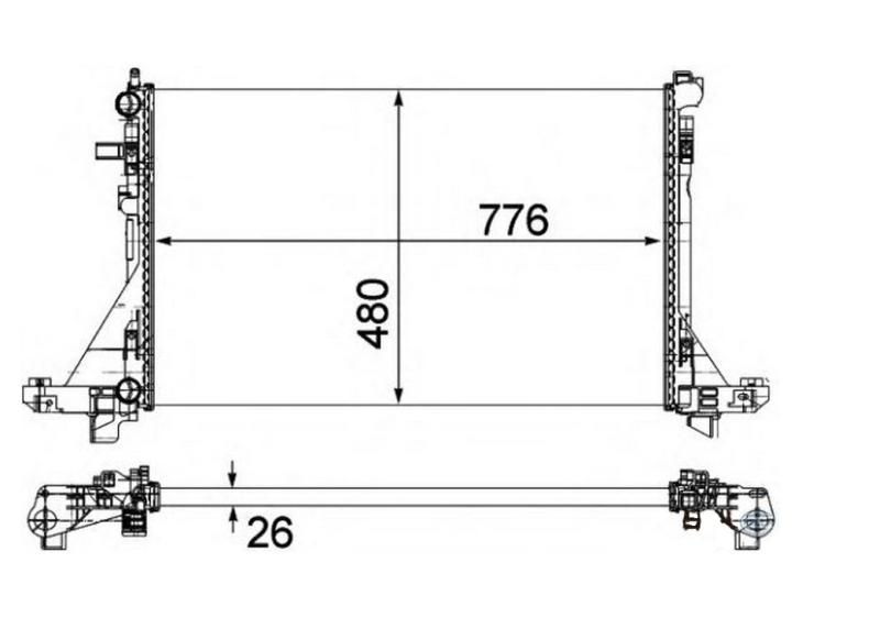 Radiateur RER 802