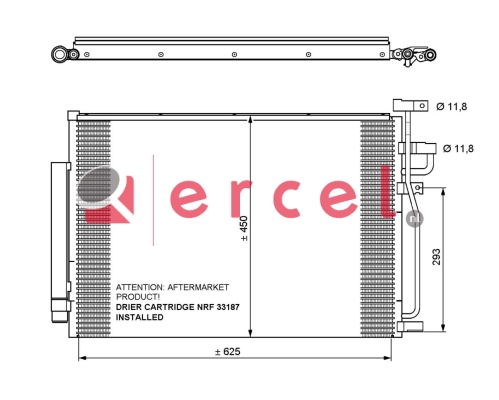 Airco condensor OPC 592