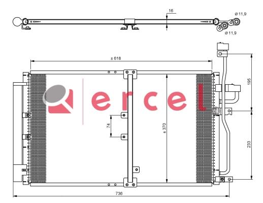 Airco condensor DWC 530