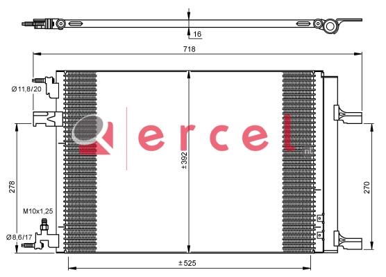 Airco condensor OPC 594