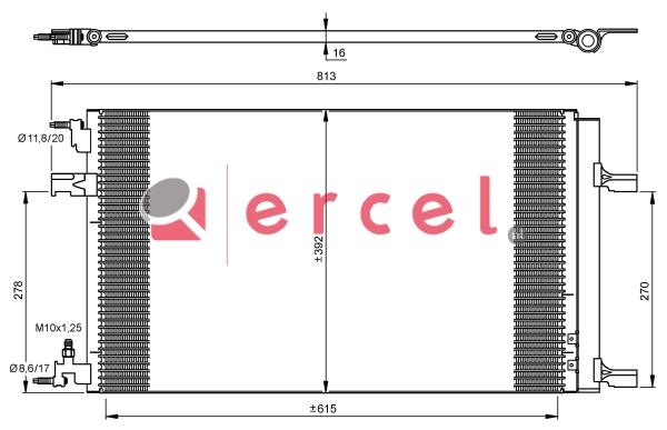 Airco condensor OPC 596