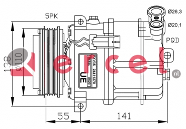 Airco compressor OPK 042 OEM