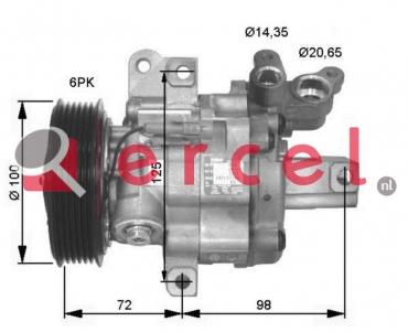 Airco compressor CIK 032 OEM