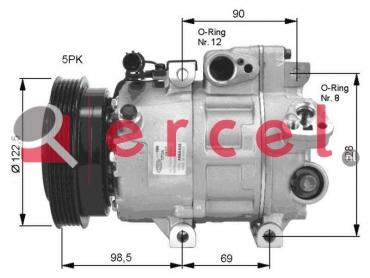 Airco compressor KAK 010 OEM