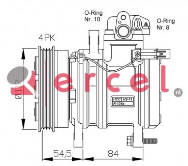 Airco compressor KAK 016 OEM