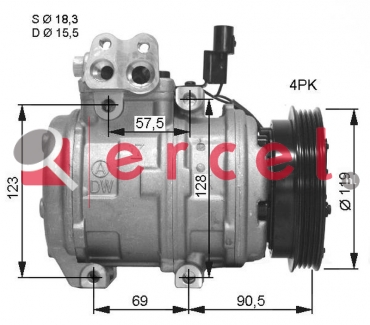 Airco compressor HYK 015 OEM