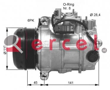 Airco compressor MBK 085 OEM