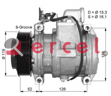 Airco compressor MBK 010 OEM
