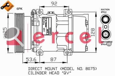 Airco compressor REK 031 OEM