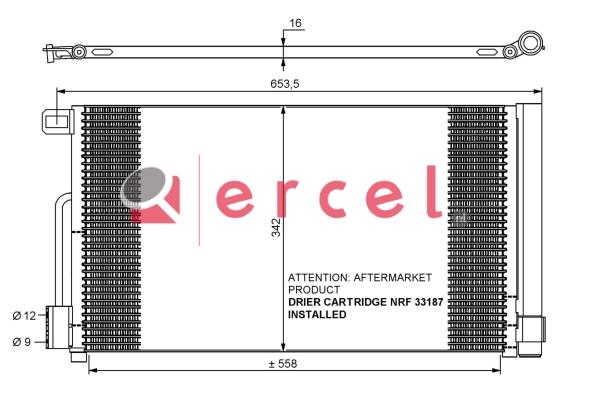 Airco condensor OPC 586