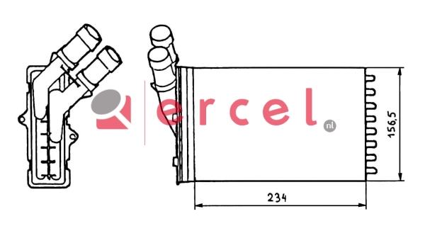 Kachelradiateur CIH 212
