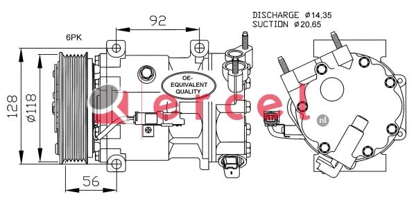Airco compressor CIK 028