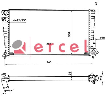 Radiateur CIR 073