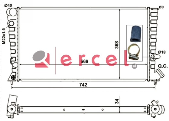 Radiateur CIR 043