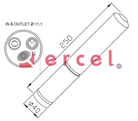 Airco droger/filter CID 023
