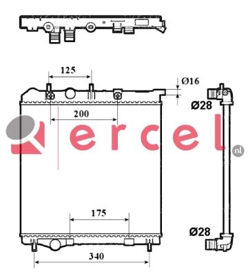 Radiateur PER 174