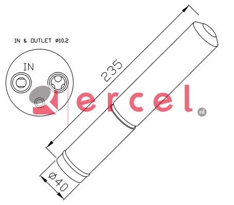 Airco droger/filter NID 010