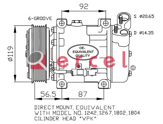 Airco compressor CIK 029