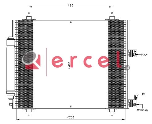 Airco condensor CIC 558