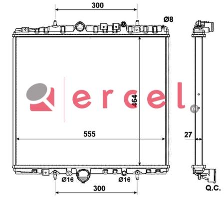 Radiateur PER 137