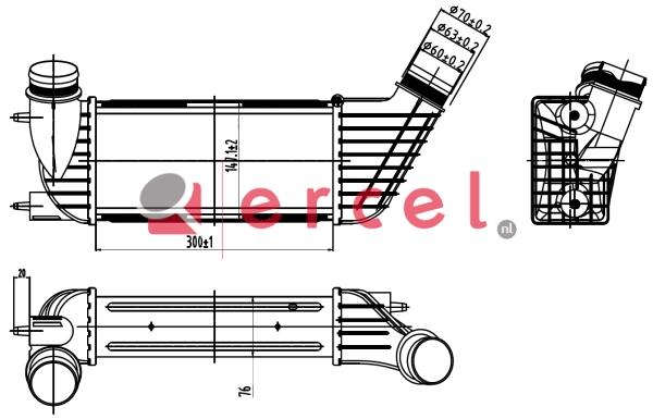 Interkoeler CII 438
